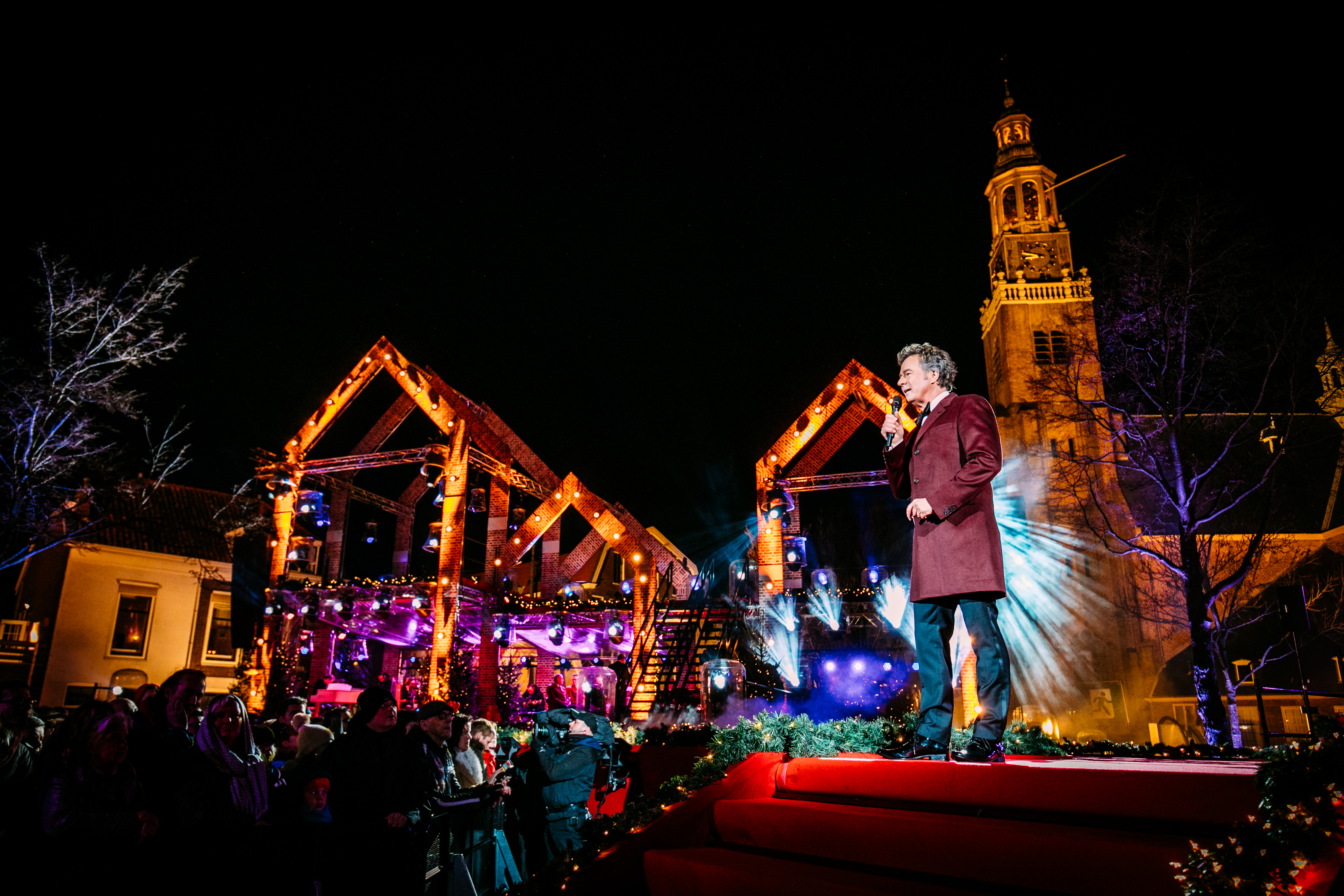 Kerstfeest in de Stad